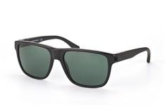 Emporio Armani EA 4035 5017 71, Square Sonnenbrillen, Schwarz auf Rechnung bestellen