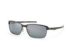 Oakley Tinfoil Carbon OO 6018 02, Sporty Sonnenbrillen, Schwarz