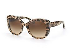 Dolce&Gabbana DG 4233 2870/13, Butterfly Sonnenbrillen, Braun