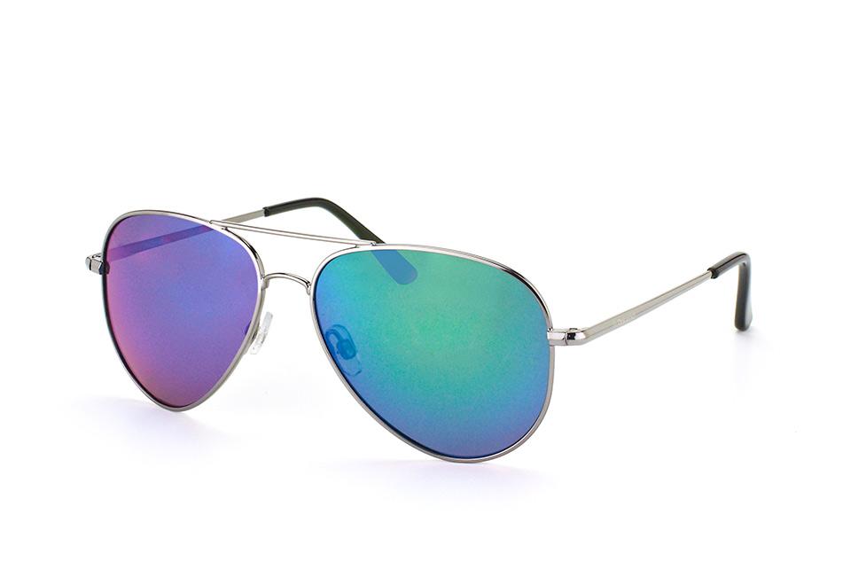 P 4139 B N5Y K7, Aviator Sonnenbrillen, Silber
