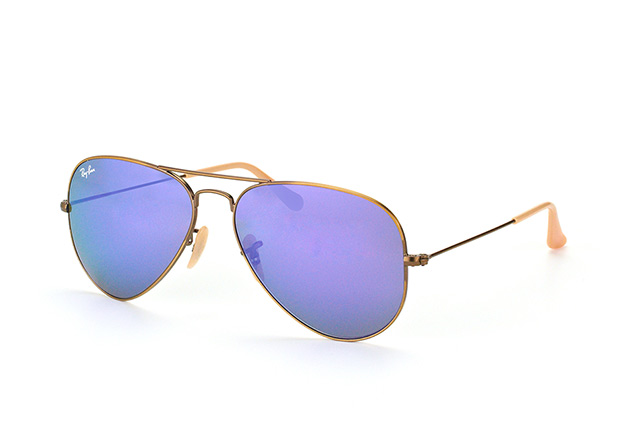 Ray-Ban Aviator RB 3025 167/1M vista en perspectiva