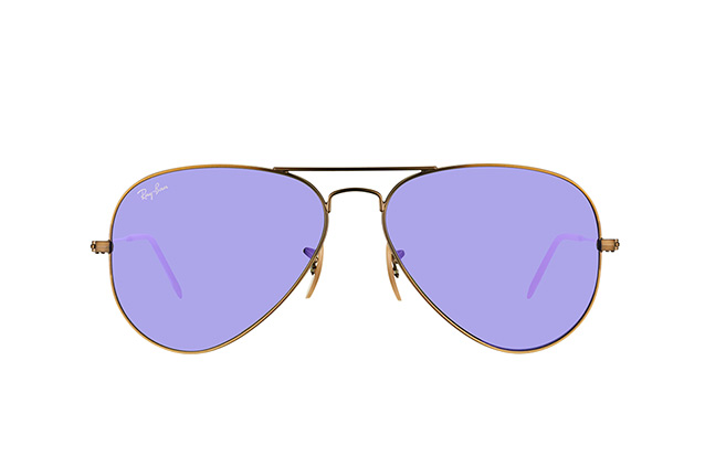 Ray-Ban Aviator large RB 3025 167/1M vista en perspectiva