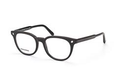Dsquared2 DQ 5144/v 001, Round Brillen, Schwarz