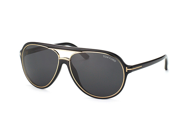 Tom Ford Sergio FT 0379/S 01A vue en perpective