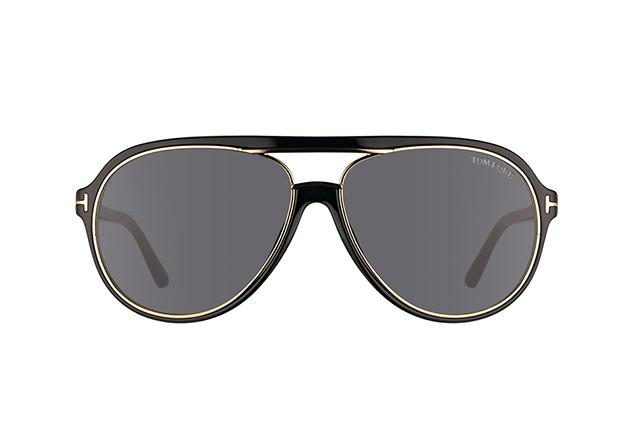 Tom Ford Sergio FT 0379/S 01A vista en perspectiva