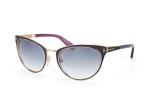 Tom Ford Nina FT 0373/S 01B Perspektivenansicht