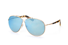 Tom Ford Eva FT 0374/s 28X, Aviator Sonnenbrillen, Goldfarben