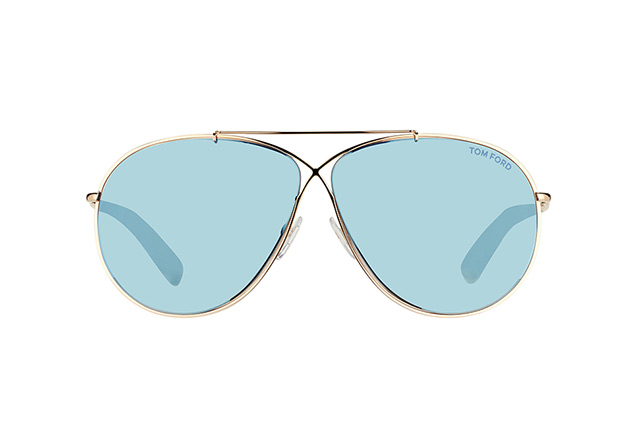 Tom Ford Eva FT 0374/S 28X vista en perspectiva