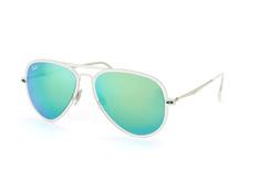 Ray-Ban RB 4211 646/3R, Aviator Sonnenbrillen, Transparent