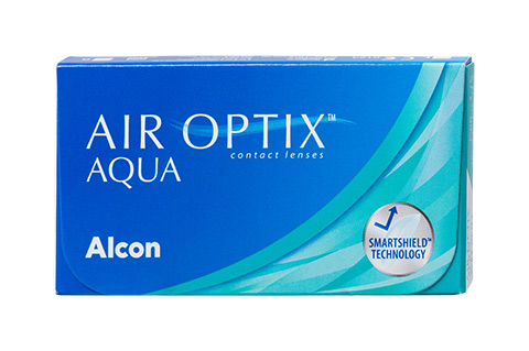 Air Optix Air Optix Aqua Monatslinsen Frontansicht