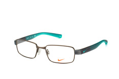 Nike 8166 080, Rectangle Brillen, Schwarz