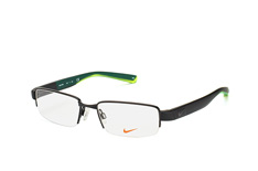 Nike 8165 001, Rectangle Brillen, Schwarz