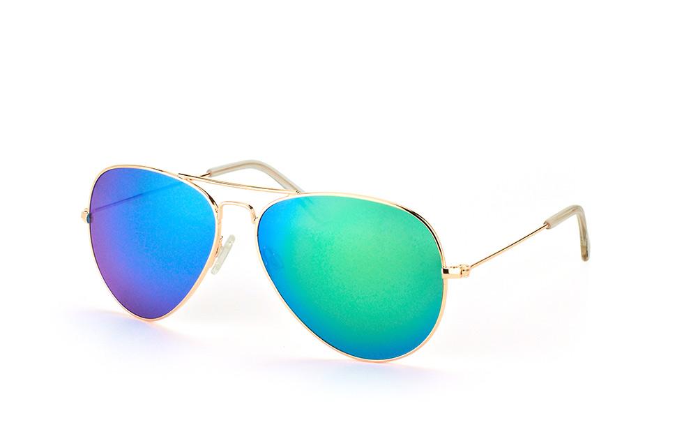mister spex collection -  Tom 2004 007 large, Aviator Sonnenbrille, Unisex, in Sehstärke erhältlich