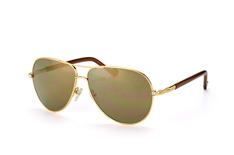 Liu Jo LJ 100Sr 717, Aviator Sonnenbrillen, Goldfarben