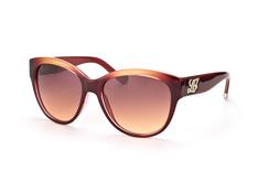 Liu Jo LJ 607Sr 605, Butterfly Sonnenbrillen, Dunkelrot
