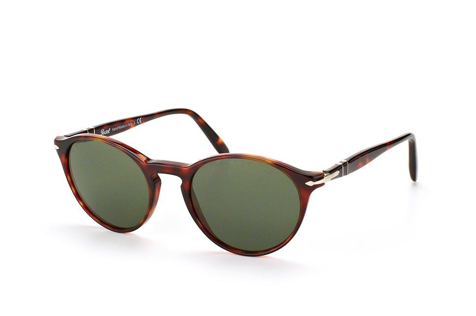 PERSOL Persol Herren Sonnenbrille » PO3171S«, braun, 24/31 - braun/grün