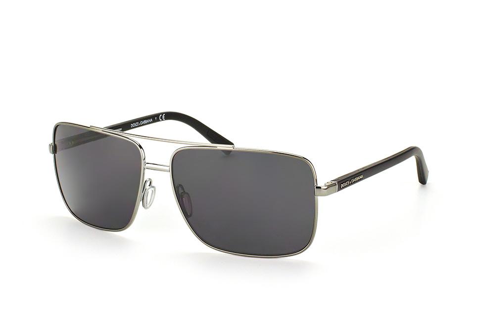 DG 2142 04/87, Aviator Sonnenbrillen, Silber