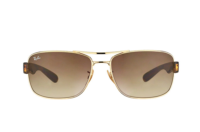 Ray-Ban RB 3522 001/13 vista en perspectiva