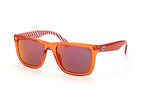 Lacoste L 750S 539 Orange / Grey perspective view thumbnail