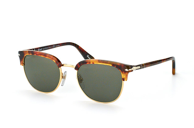 Persol PO3105S Sonnenbrille Havanna 108/58 Polarisiert 51mm 4lIE5
