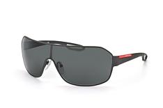 Prada Linea Rossa PS 52Qs Dg0-1A1, Singlelens Sonnenbrillen, Schwarz