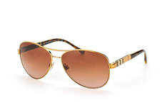 burberry-be-3080-1145-13-aviator-sonnenbrillen-goldfarben