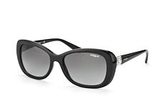 Vogue Eyewear VO 2943Sb W44/11, Butterfly Sonnenbrillen, Schwarz