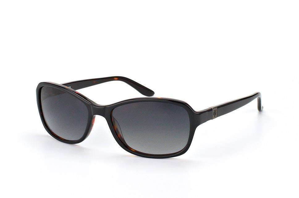 Marc O'polo Eyewear 506090 10, Square Sonnenbrillen, Schwarz