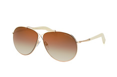 Tom Ford Eva FT 0374/s 28G, Aviator Sonnenbrillen, Silber