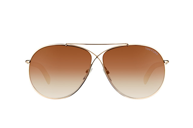 Tom Ford Eva FT 0374/S 28G vista en perspectiva