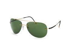 Silhouette 8142 20-6205, Aviator Sonnenbrillen, Goldfarben