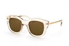 Le Specs Runaways Luxe LSP 1402003, Square Sonnenbrillen, Hellbraun