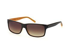 Mister Spex Collection Marcello 2021 001, Square Sonnenbrillen, Schwarz