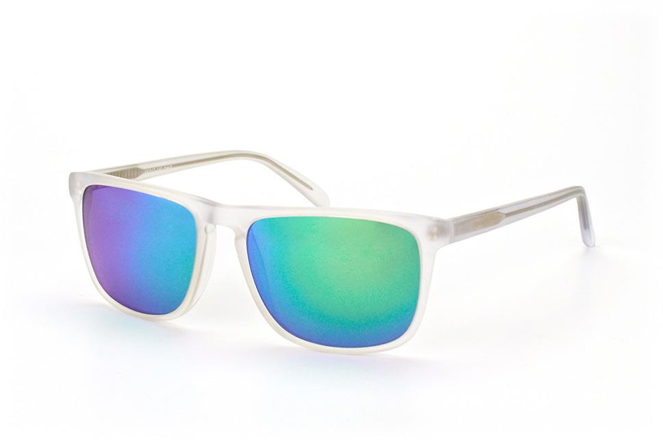 mister spex collection -  Sienna 2019 002, Quadratische Sonnenbrille, Unisex, in Sehstärke erhältlich