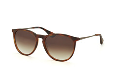 Mister Spex Collection Ashley 2023 001, Round Sonnenbrillen, Braun
