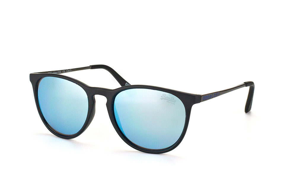 Ellen 104, Round Sonnenbrillen, Schwarz