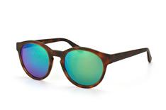Mister Spex Collection Cara 2020 003, Round Sonnenbrillen, Braun