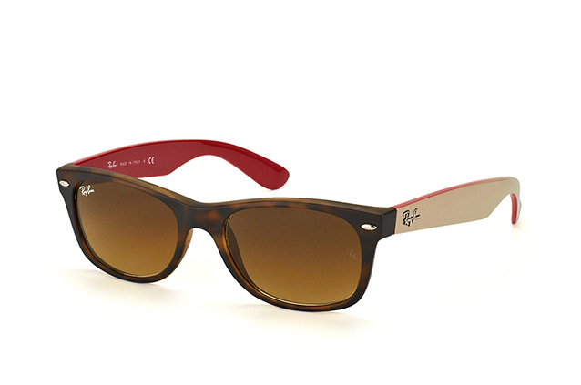 fc130416aa ... Sunglasses  Ray-Ban New Wayfarer RB 2132 6181 85. null perspective view  ...