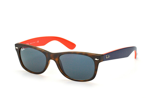 Ray Ban Wayfarer Bleu Orange