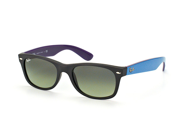 Ray-Ban New Wayfarer RB 2132 6183/71 perspective ...