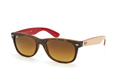 Ray-Ban Wayfarer RB 2132 6181/85 large liten