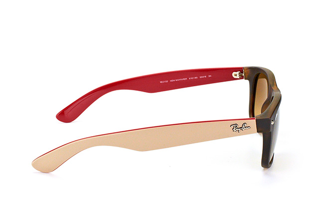 Ray-Ban Wayfarer RB 2132 6181/85 large vista en perspectiva