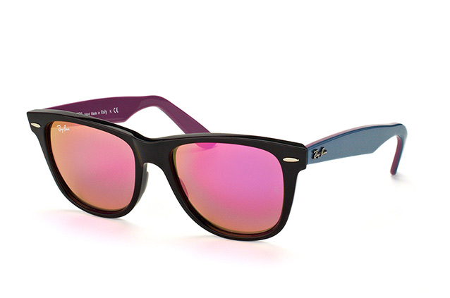 Ray-Ban Wayfarer RB 2140 1174/4T large vista en perspectiva