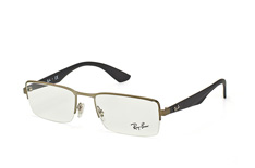 ray-ban-rx-6331-2620-rectangle-brillen-silber