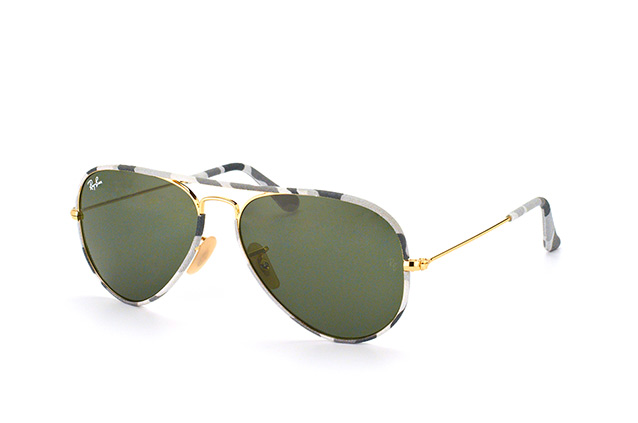 Ray-Ban Aviator  RB 3025 JM 171 small perspective view