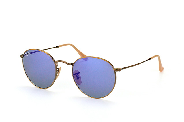 Ray-Ban Round Metal RB 3447 167/68 perspective view