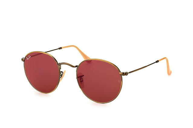 Ray-Ban Round Metal RB 3447 167/2K perspective view