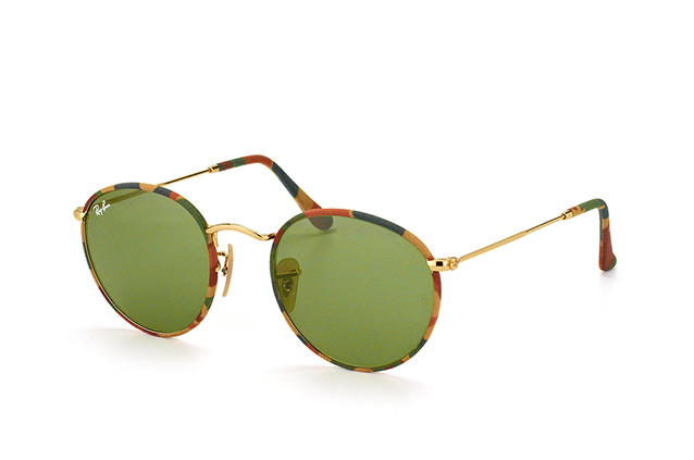 Ray-Ban Round Metal RB 3447 JM 168/4E perspective view