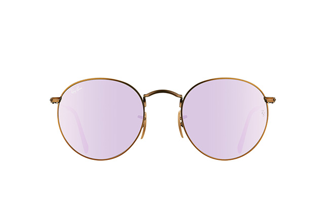 Ray-Ban Round Metal RB 3447 167/4K vista en perspectiva