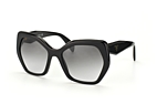 Prada PR 16RS UAO-3D0 Black / Gradient grey perspective view thumbnail
